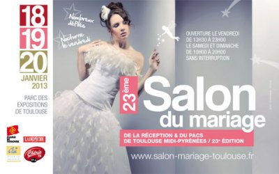 Happy to see you au salon du mariage et du pacs de toulouse - Salon du modelisme toulouse ...