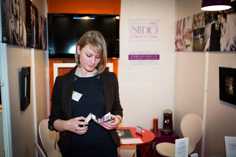 Le stand de Studio Happy to See au salon du mariage et du pacs 2013 à Toulouse