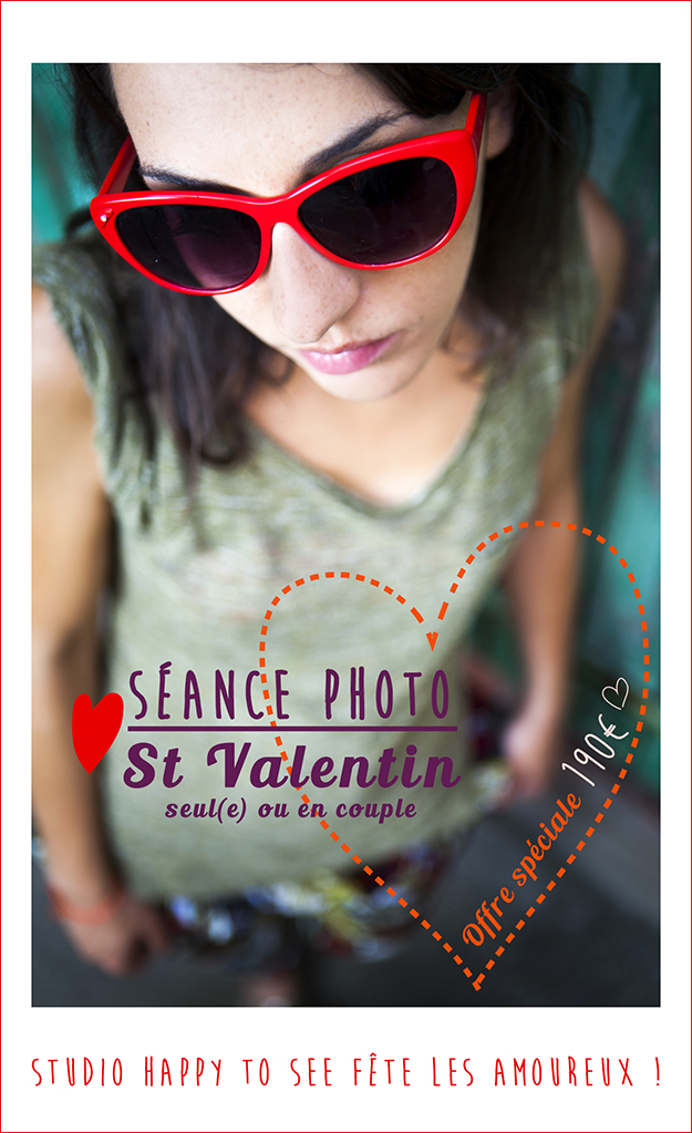 Séance photo spéciale St Valentin