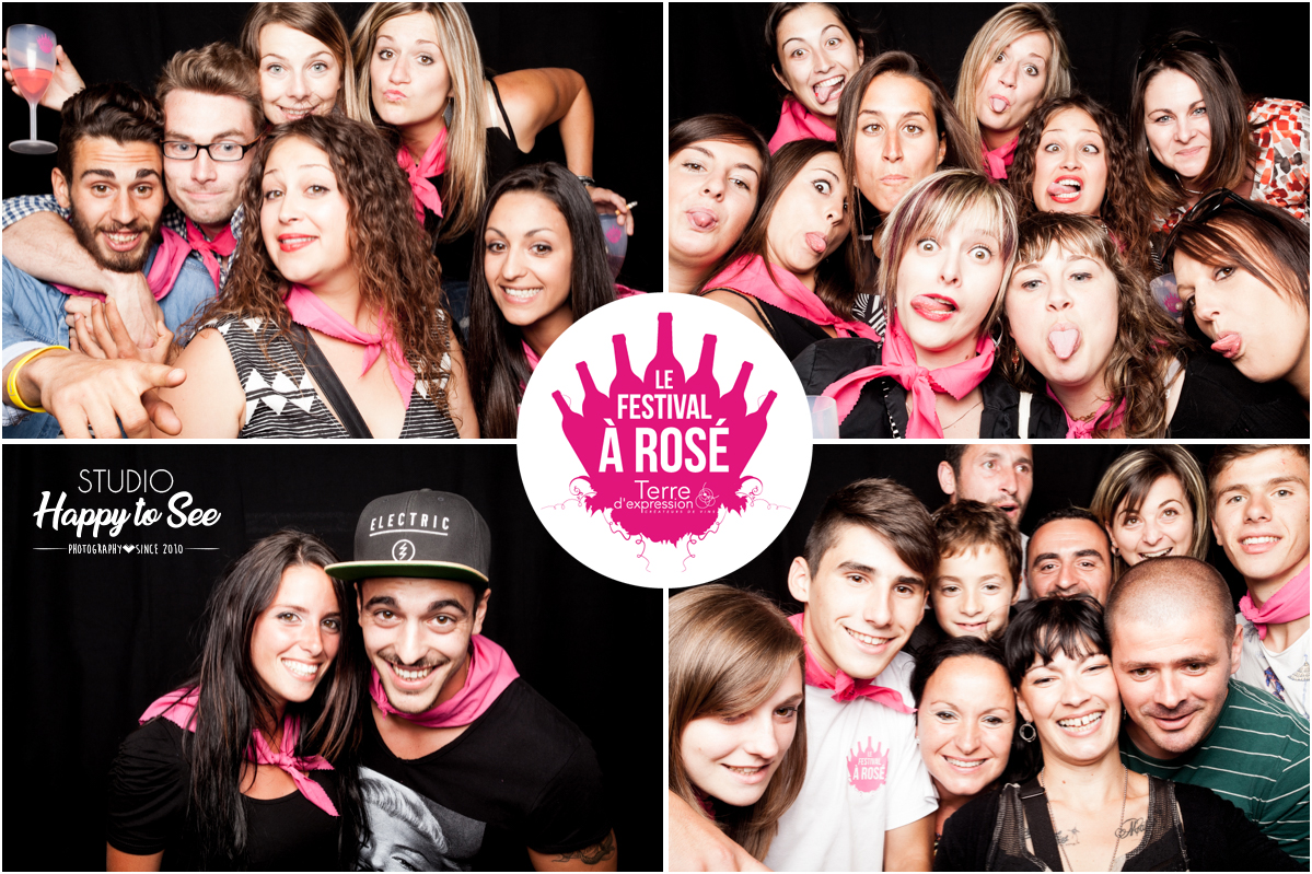 Photobooth festival a rose fabrezan