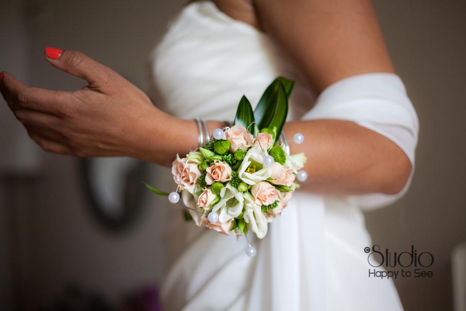 Accessoire floral mariage