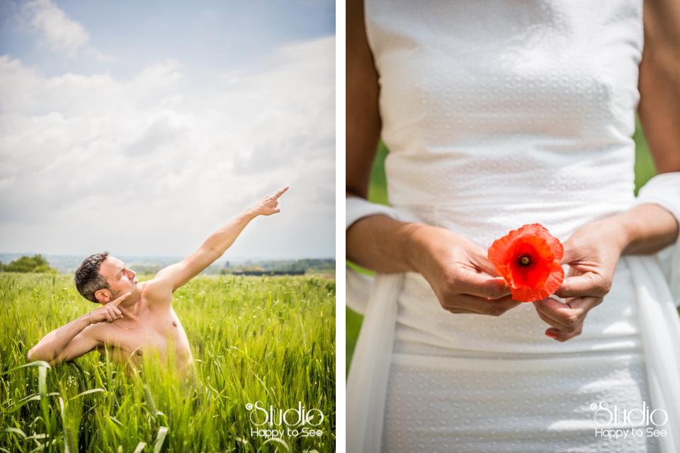 Photographe de mariage dans le Tarn au Moulin à Vent
