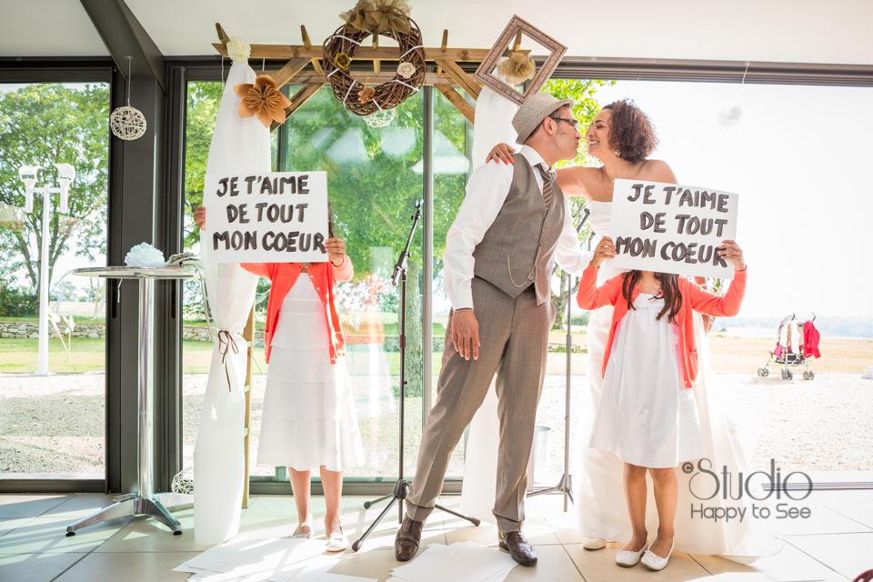 Cérémonie laïque au Moulin à Vent photographe mariage Tarn
