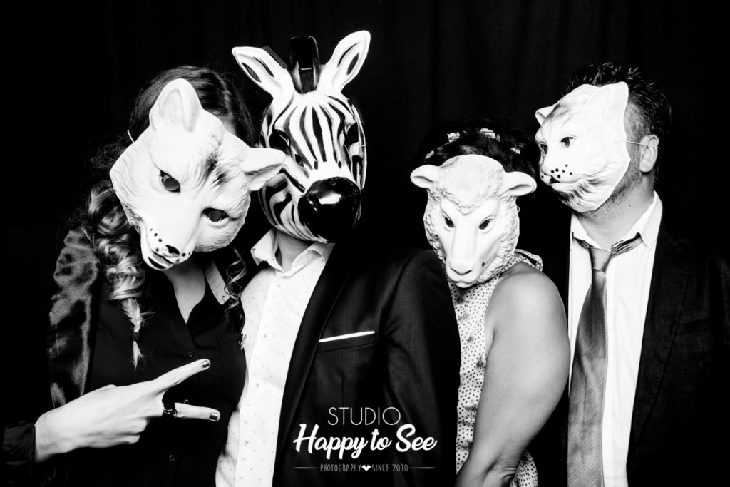 Photobooth accessoire masque animaux