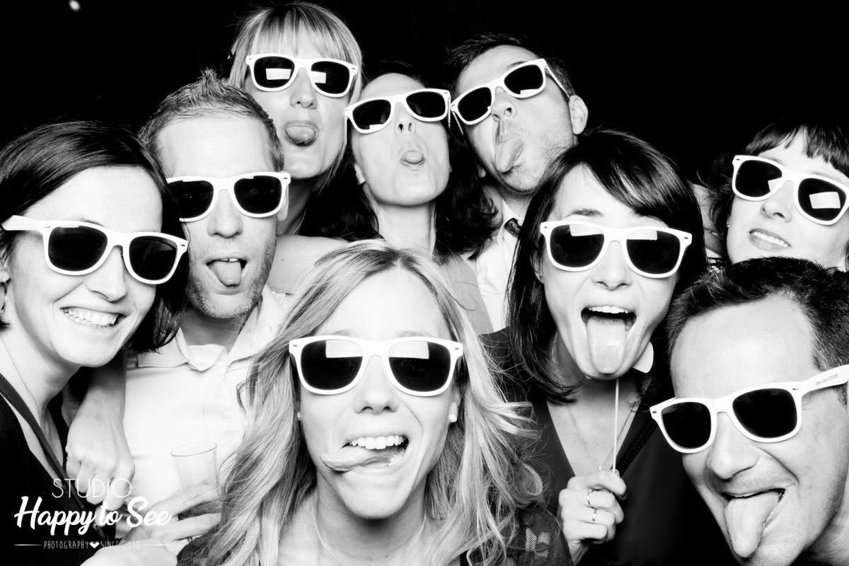 Photomaton fun et accessoires lunettes de soleil Ray Ban