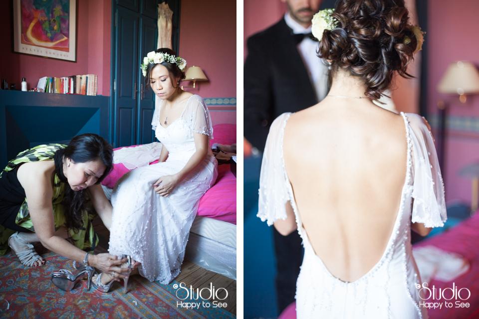 Robe mariage vintage Ariège