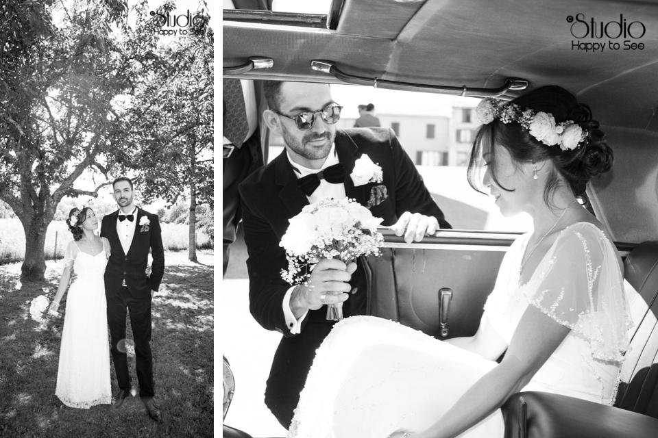 Mariage vintage en Ariège