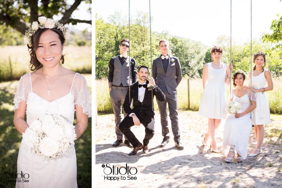 photographe mariage vintage en arige - Photographe Mariage Albi