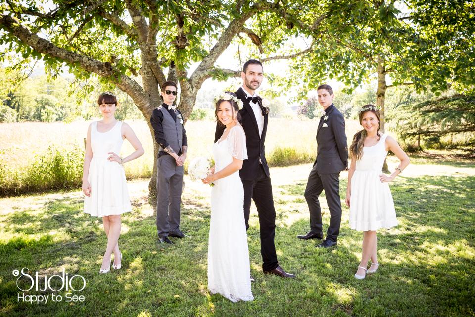 Photographe mariage vintage en Ariège
