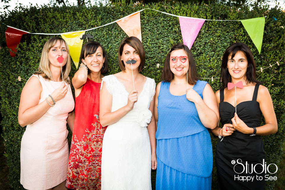 Photobooth mariage funky