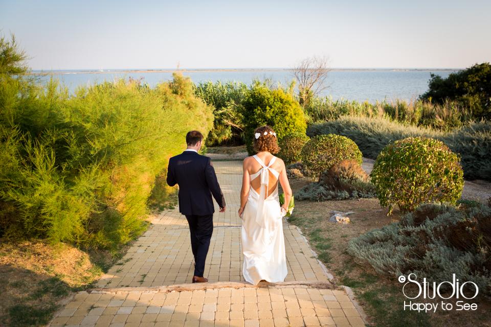 Mariage bords de mer Villeneuve Les Maguelone