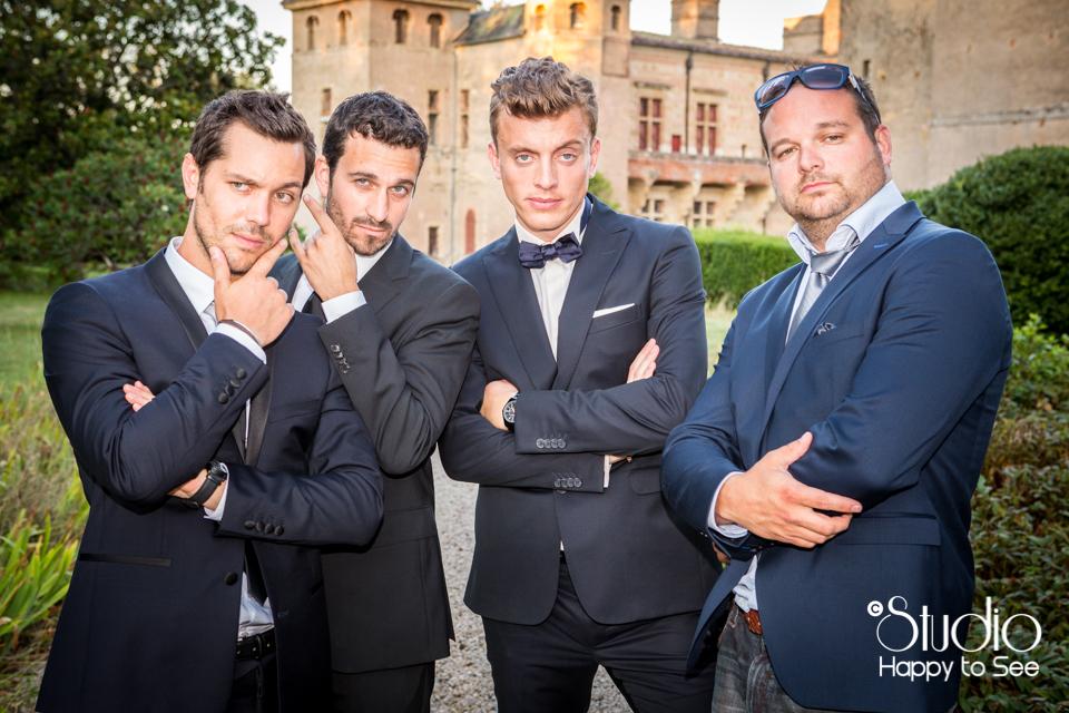 Mariage tendance funky Château de Caumont