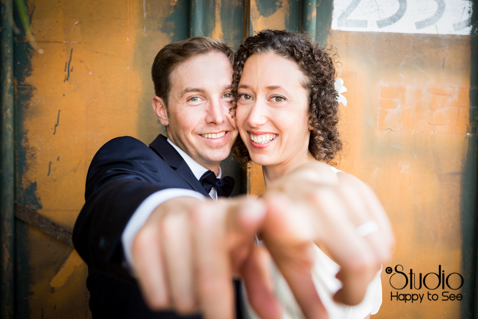 Reportage mariage moderne chic