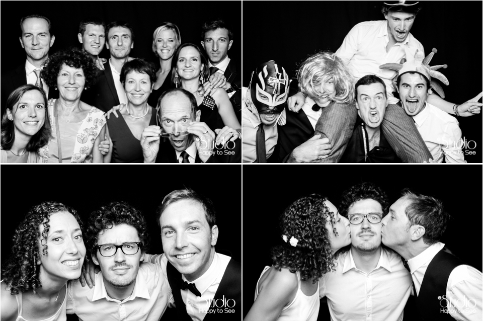 Photobooth mariage Montpellier