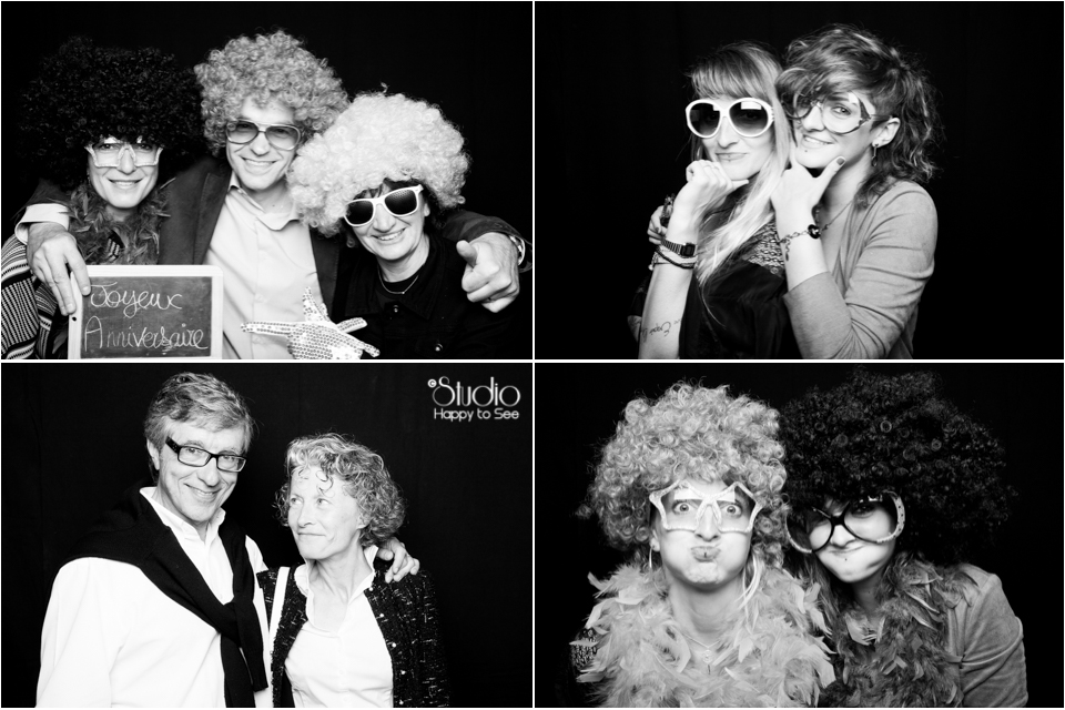 Animation Photobooth anniversaire