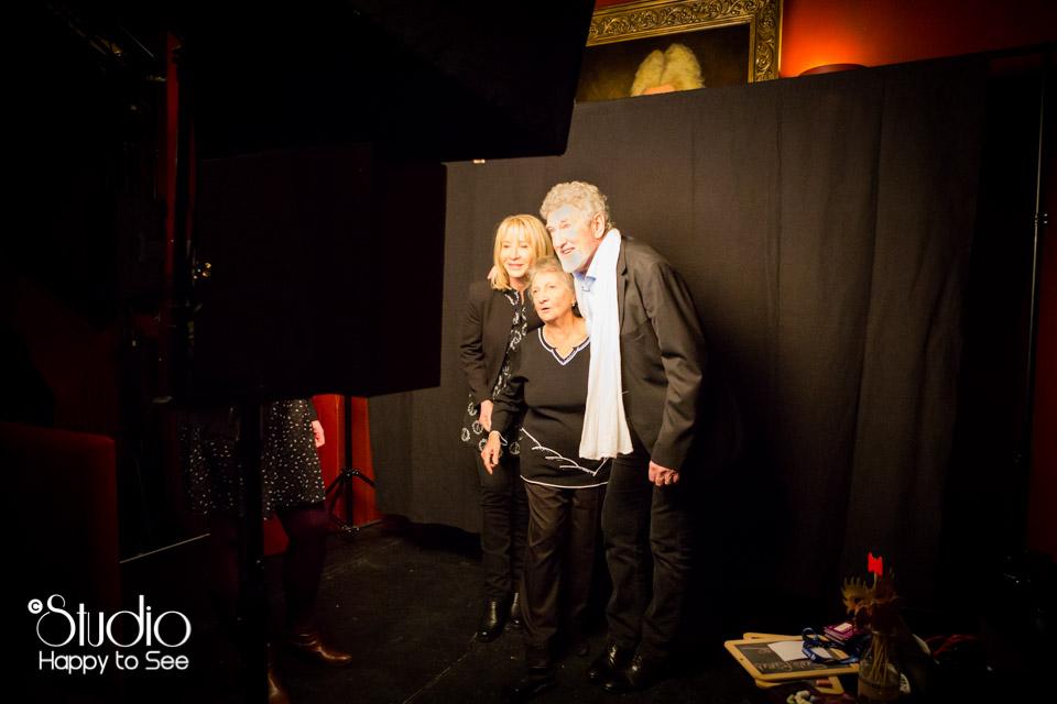 Photomaton au theatre Le Rex a Toulouse avec Marth Villalonga, Patrick Prejean.
