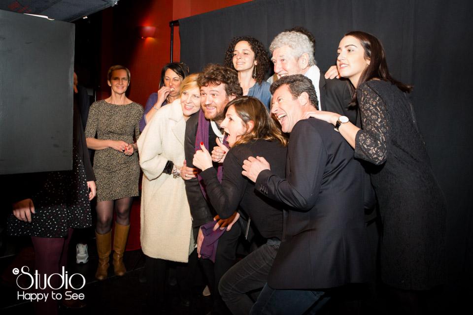 Studio Mobile au theatre Le Rex a Toulouse avec Les Chevaliers du Fiel, Francis Ginibre, Olivier De Benoist, Chantal Ladesou, Patrick Prejean.