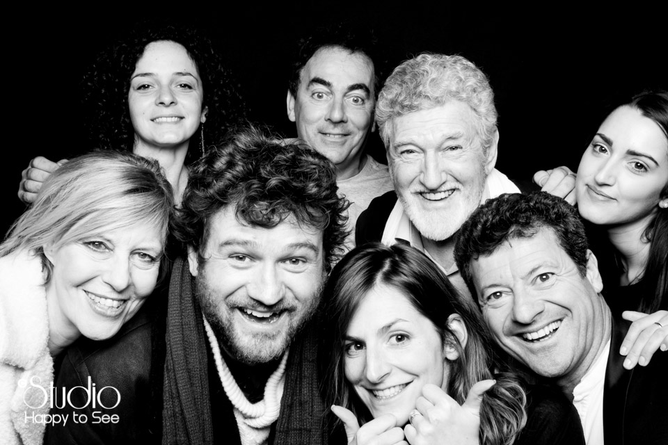 Studio Mobile au theatre Le Rex a Toulouse avec Les Chevaliers du Fiel, Francis Ginibre, Olivier De Benoist, Chantal Ladesou, Patrick Prejean, Eric Carriere..