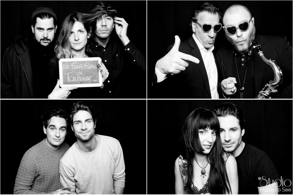 Photobooth au Rex de Toulouse avec Kevin et Tom, Erika Moulet, Jeremy Ferrari,Artus.