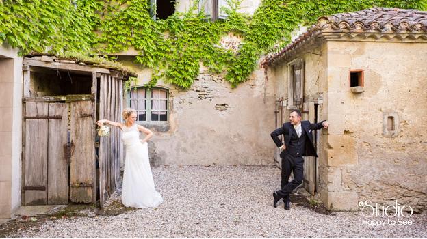 Très Mariage champêtre à Castres - Studio Happy to See Photographe Toulouse NB59
