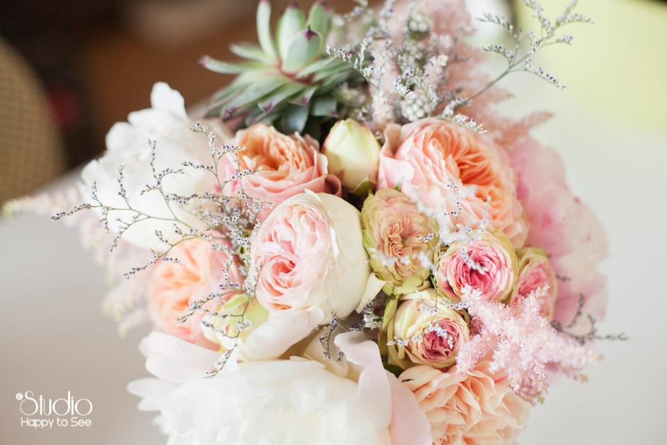 Bouquet de fleurs mariee tendance