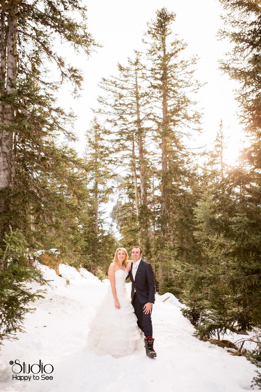 Mariage a la montagne a Axe les Thermes