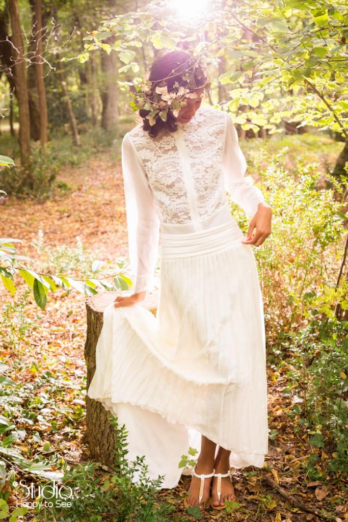 Createur robe de mariee sur mesure