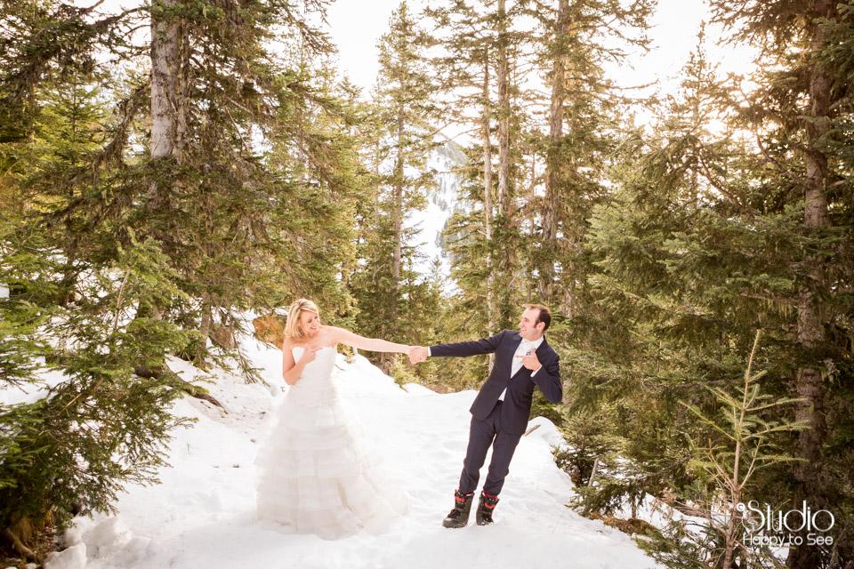 Mariage dans les Pyrenees