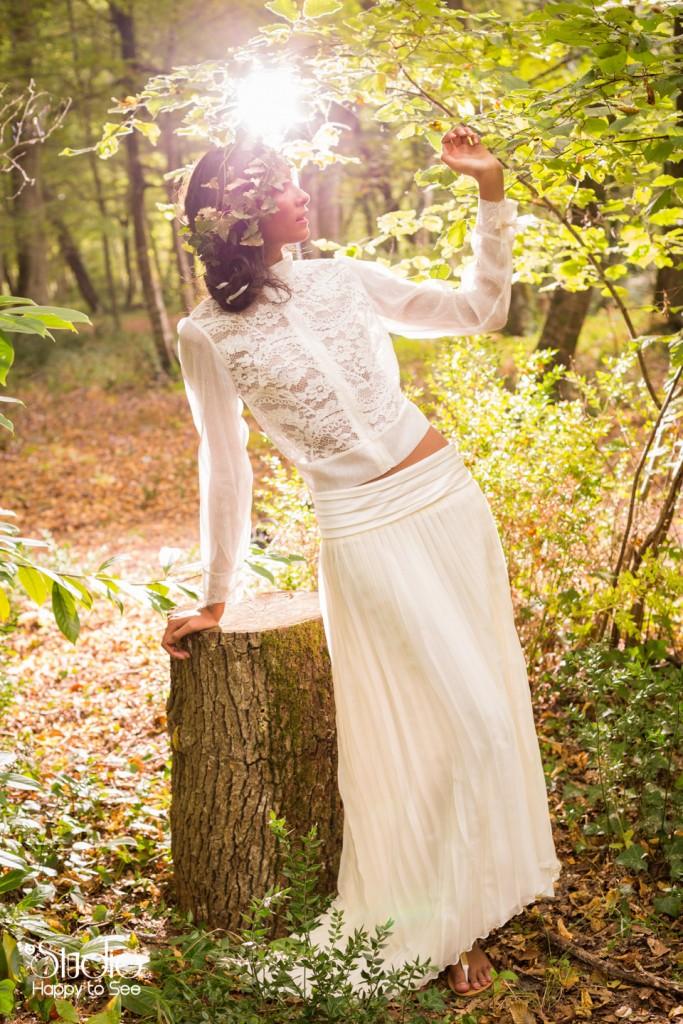 Robe de mariee romantique