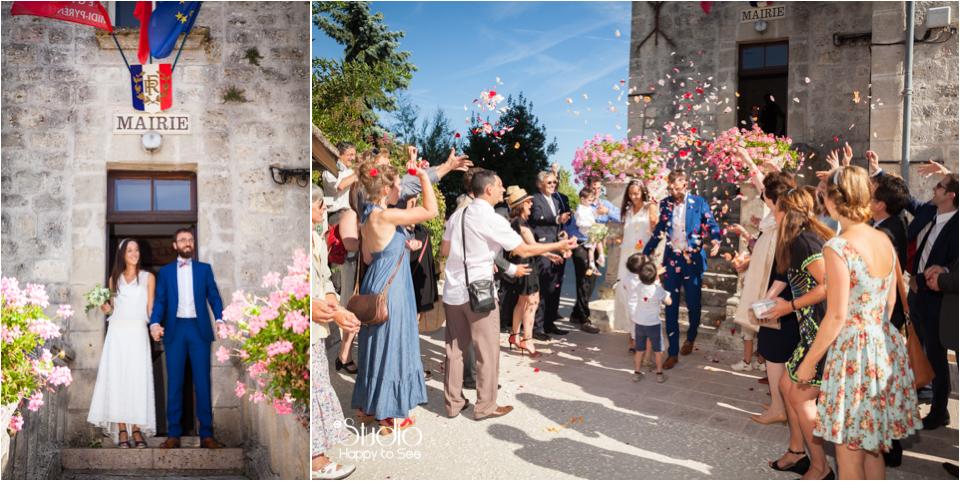 Mariage Mairie de Roquecor