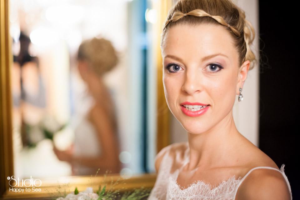 Mariage a Castres preparatifs mariee