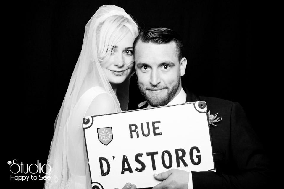 Photobooth pour le Mariage d'une bloggueuse