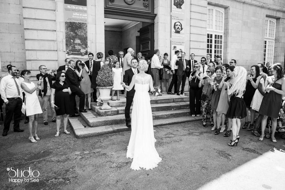 Mariage mairie de Castres