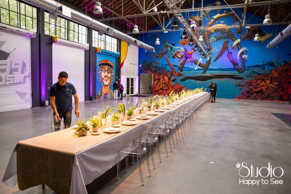 Diner des chatelains par Gimm traiteur mariage Espace Cobalt Toulouse