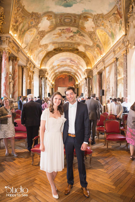 Mariage romantique Mairie Capitole Toulouse