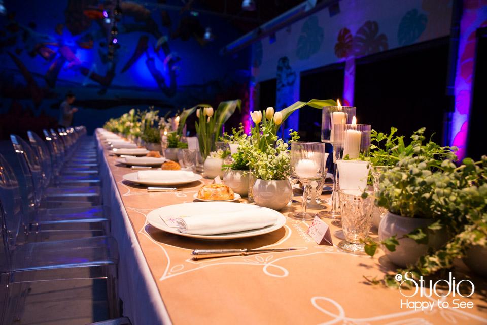 Decoration table Gimm Traiteur Espace Cobalt Toulouse