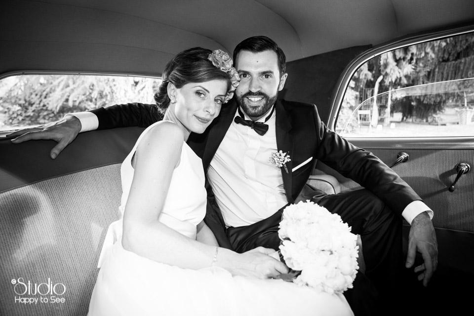 Mariage chic retro en Ariege