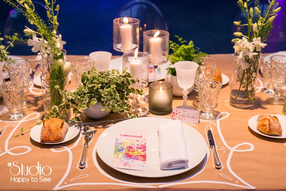 Deco table par Gimm Traiteur Espace Cobalt Toulouse