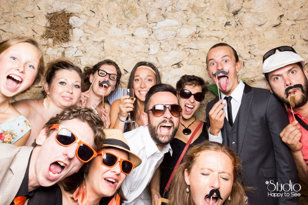 Photobooth mariage hippie chic