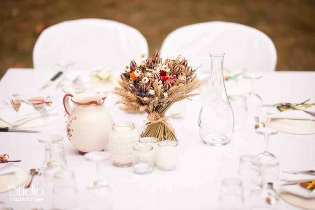 decoration champetre mariage