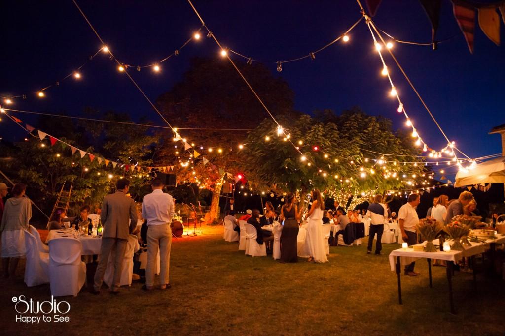 soiree mariage hippie chic jardin