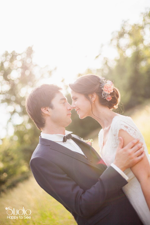 Mariage poetique a l'Orangerie de rochemontes