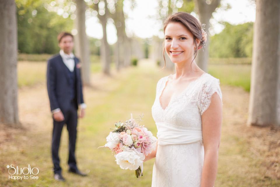 Mariage romantique a l'Orangerie de rochemontes