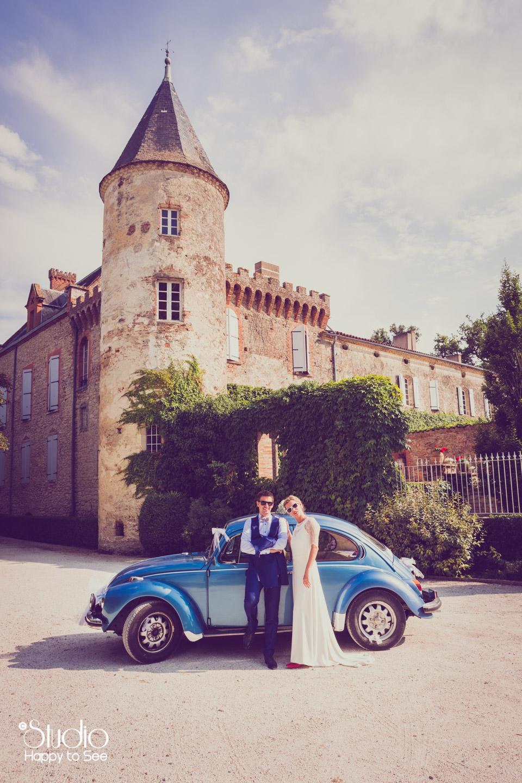 mariage-vintage-chateau-du-croisillat-caraman