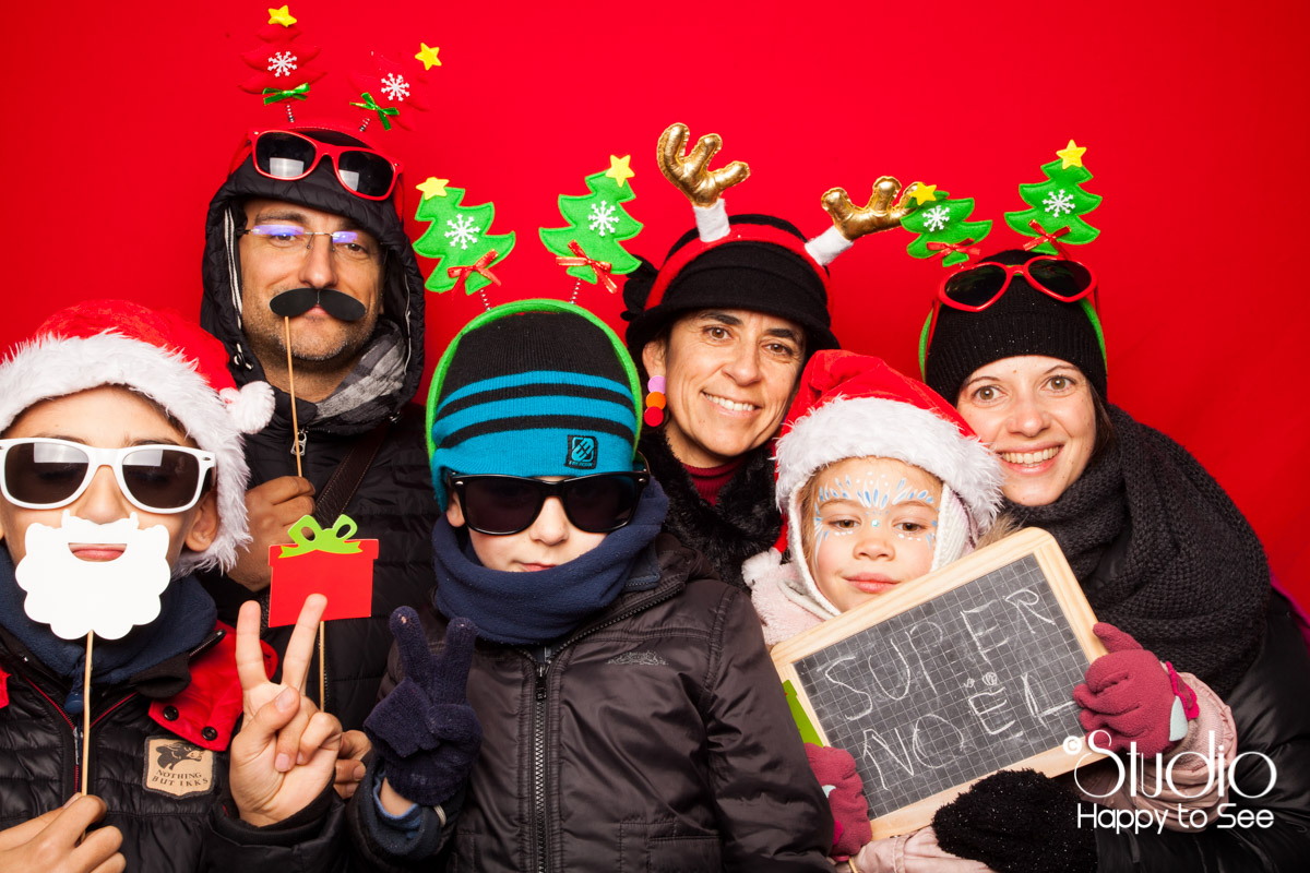 Photobooth Noel Blagnac