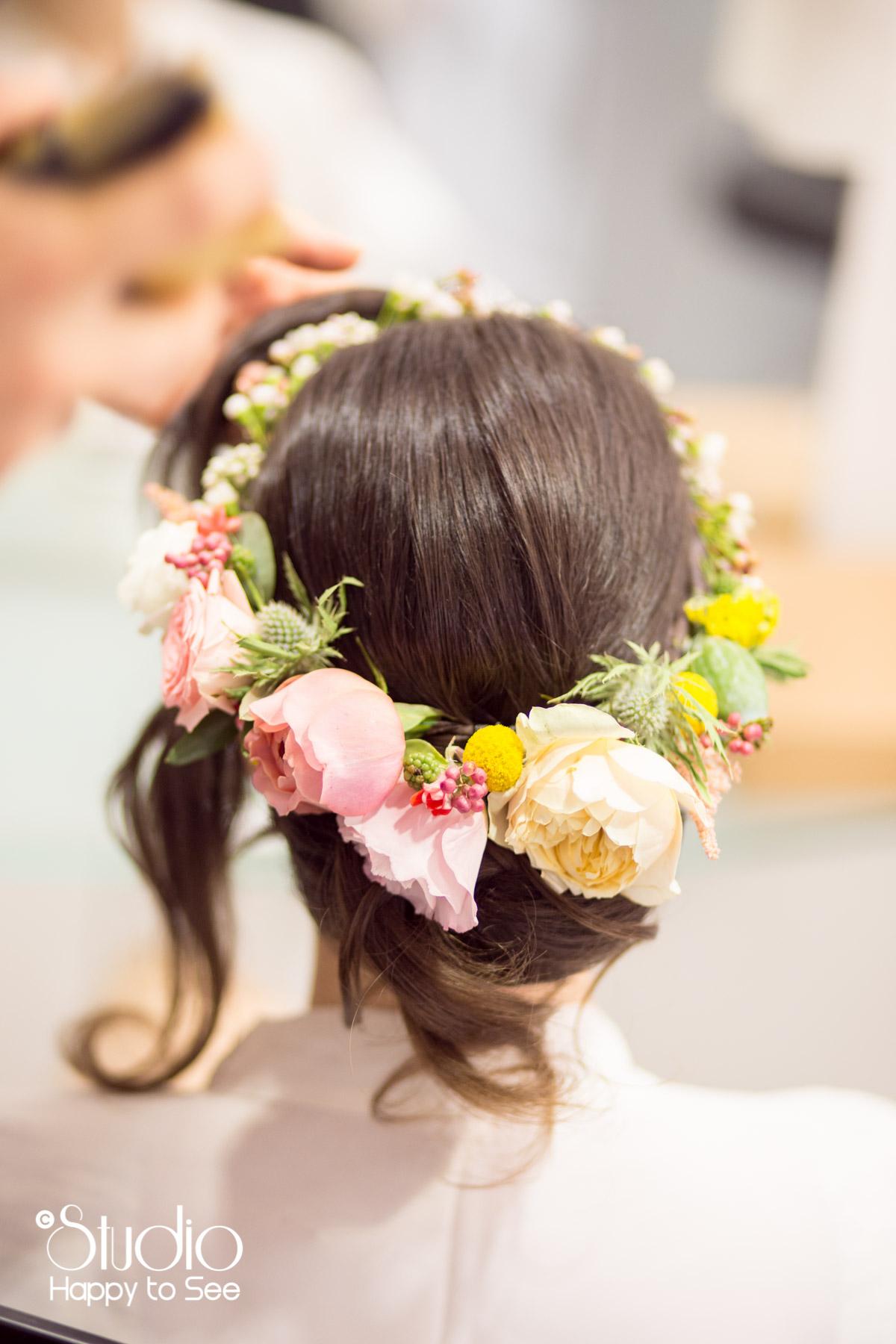 Couronne fleurs mariage toulouse