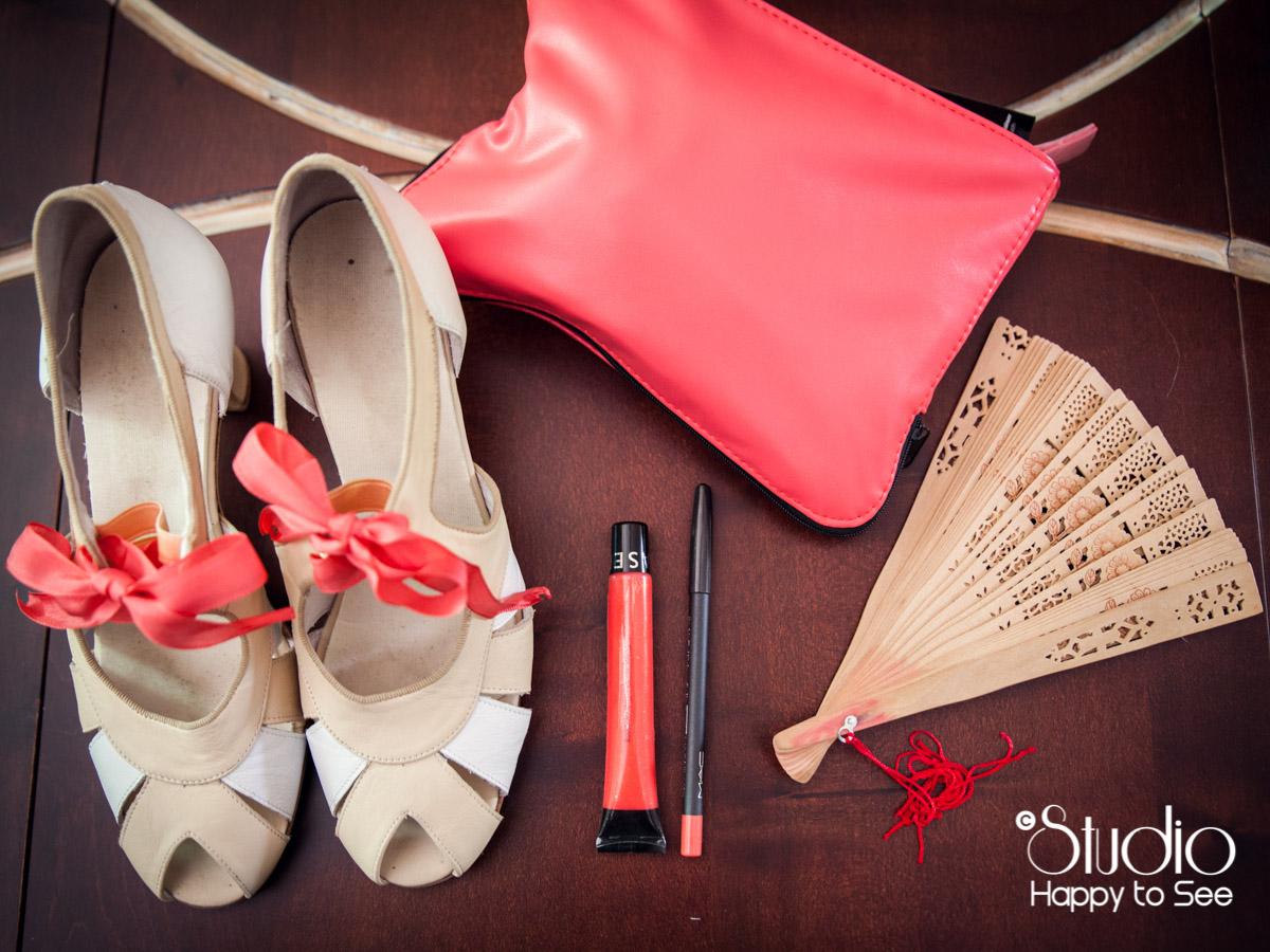 chaussures et accessoires mariee