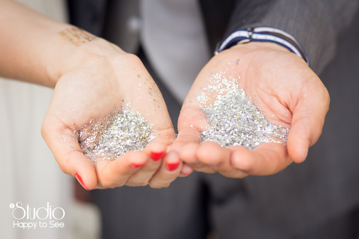 paillettes mariage funky
