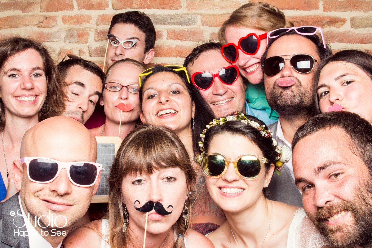 Photobooth Mariage Toulouse studio mobile