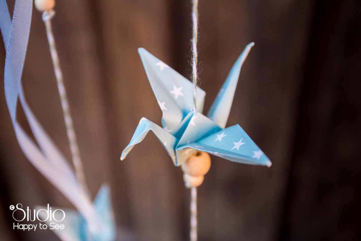 decoration mariage tendance origamis